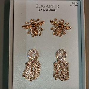 NWT  SUGARFIX  x Bauble Bar Earring Set